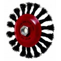 TW.WIRE CON. WHEEL BRUSH 100MM