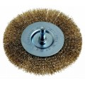 WIRE WHEEL BRUSH 75MM DBL.THIC