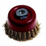 WIRE CUP BRUSH KNOTTED 85MM14