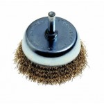 50 X 6MM BRASS WIRE CUP BRUSH
