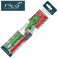 PICA POCKET WITH 1 CARPENTERS PENCIL 24MM IN BLISTER