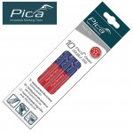 PICA UNIVERSAL MARKING PENCIL RED/BLUE END 10PC