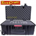 HARD CASE 550X345X245MM OD WITH FOAM BLACK WATER & DUST PROOF (512722)