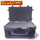 HARD CASE 670X515X375MM OD WITH FOAM BLACK WATER & DUST PROOF(584433)