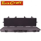 PLASTIC CASE 1387.5X393.7X152.4MM OD WITH FOAM BLACK RIFLE CASE