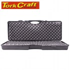 PLASTIC CASE 880 X 340 X 135MM OD WITH FOAM BLACK SHOTGUN  CASE