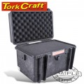 HARD CASE 420X300X290MM OD WITH FOAM BLACK WATER & DUST PROOF (382323)