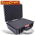HARD CASE 460X355X175MM OD WITH FOAM BLACK WATER & DUST PROOF 433015