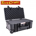 HARD CASE 570X360X265MM OD WITH FOAM BLACK WATER & DUST PROOF 512722