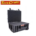 HARD CASE 530X435X260MM OD WITH FOAM BLACK WATER & DUST PROOF 483720
