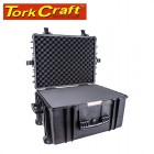 HARD CASE 670X510X375MM OD WITH FOAM BLACK WATER & DUST PROOF 584433