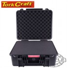 HARD CASE 462X435X225MM OD WITH FOAM BLACK WATER & DUST PROOF