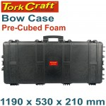 BOW CASE 1190X530X210MM WITH PRE-CUBED BREAKOUT FOAM
