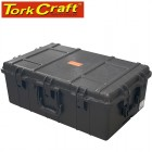 PLASTIC CASE 797 X 518 X 313MM OD WITH FOAM BLACK CASE WATER & DUST PR