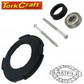 POLISHER S/KIT ARMATURE REAR BEARING & BAFFLE (27-30) FOR POL02
