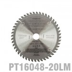 SAW BLADE TCT 160X2.2X20X48T WOOD PROF. PRO-TECH FES. TS55 PW1