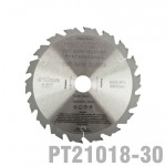 SAW BLADE TCT 210X2.4X30X18T WOOD PROF. PRO-TECH FES. TS75