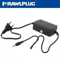 SLIM LINE POWER SUPPLY 12V 1A FOR RAWL NAILERS