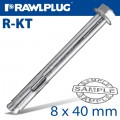 R-KT SLEEVE ANCHOR 8X40MM X100 PER BOX