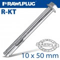 R-KT SLEEVE ANCHOR 10X50MM X50 PER BOX