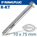 R-KT SLEEVE ANCHOR 10X75MM X50 PER BOX