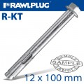 R-KT SLEEVE ANCHOR 12X100MM X25 PER BOX