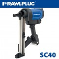 GAS STEEL AND CONCRETE NAILER SC40