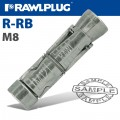 R-RB RAWLBOLT SHIELD ONLY M08W BOX OF 100