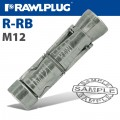 R-RB RAWLBOLT SHIELD ONLY M12W BOX OF 50