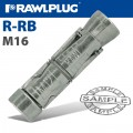 R-RB RAWLBOLT SHIELD ONLY M16W BOX OF 25