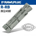 R-RB RAWLBOLT SHIELD ONLY M24W BOX OF 5