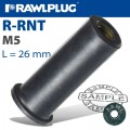 RAWLNUT M5X26.1MM X50-BOX