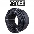 PVC HOSE BLACK 8MM X 100M REFITTEX - ITALY