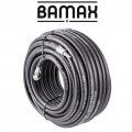 RUBBER AIR HOSE 8mmx30M W.QUICK COUPLER BX15813R30