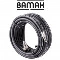 RUBBER AIR HOSE 10mmX10M W.QUICK COUPLERS