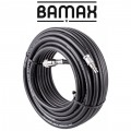RUBBER AIR HOSE 10MMX20M W.QUICK COUPLER