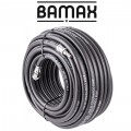 RUBBER AIR HOSE 10mmx30M W.QUICK COUPLER