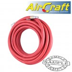 RUBBER HOSE KIT 8MMX10M RED W/ARO COUPLER