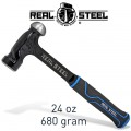 HAMMER BALL PEIN 700G 24OZ ULTRA STEEL HANDLE
