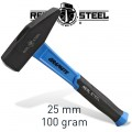 HAMMER MACHINIST 100G 3.5OZ GRAPH. HANDLE REAL STEEL