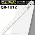 "QUILT RULER 1"" X 12"" WITH GRID"