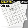 "QUILT RULER 6"" X 6"" SQUARE WITH GRID"