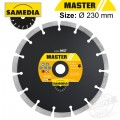 DIAMOND BLADE 230MM SEGMENTED IND MULTI PURPOSE MASTER MST