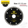 DIAMOND BLADE 115MM X 22.23 SEGMENTED IND MULTI PURPOSE SOLID MTS
