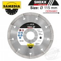 DIAMOND BLADE 115MM SEGMENTED IND GRANITE & PORCELAIN SHOXX KVX