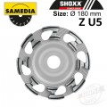 DIAMOND CUP WHEEL 180MM IND. CONCRETE / GRANITE & NAT. STONE SHOXX ZU5
