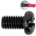 SAWSTOP P/HEAD PHILLIPS SCREW M6X1.0X10MM BLACK FOR JSS
