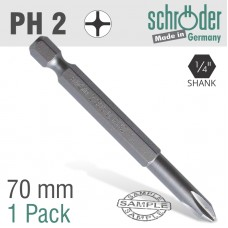 PHIL.NO.2 70MM POWER BIT BULK 1 PACK