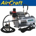 COMPRESSOR WITH AIRBRUSH KIT AND HOSE