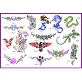 BOOK 06 TATTOO STENCILS 15 designs 1 design on each A3 sheet